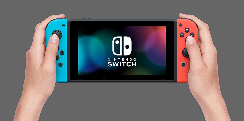 Picture of Nintendo Switch Console Neon Joy-Con