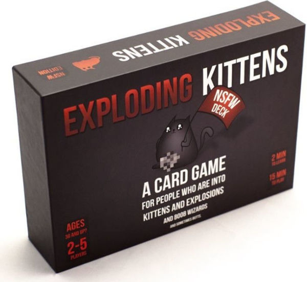 Picture of Exploding Kittens NSFW Edition