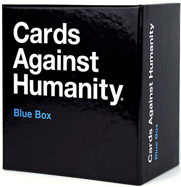 Picture of Cards Against Humanity Blue Box