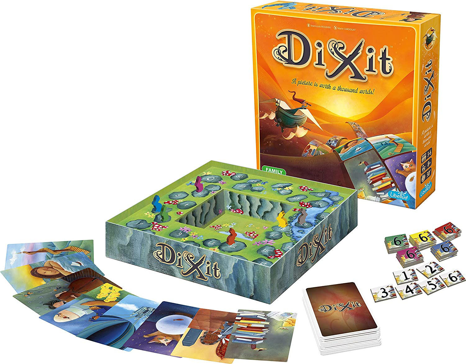 Picture of Dixit Board Game