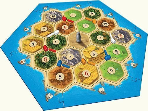 Picture of Catan Trade Build Settle - Base Game