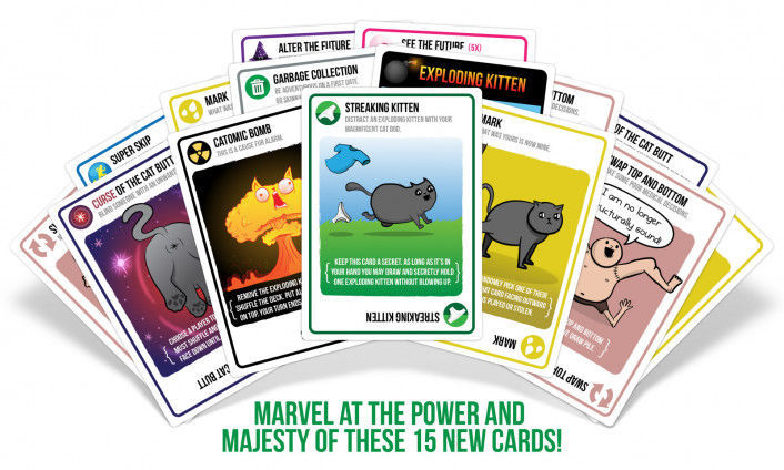 Picture of Streaking Kittens (Exploding Kittens Expansion)