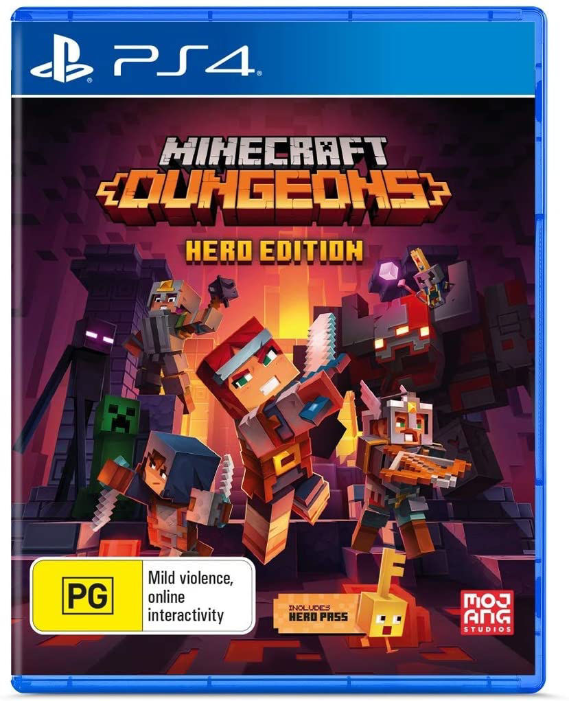 Picture of Minecraft Dungeons Hero Edition PS4