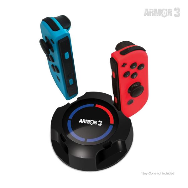 Picture of Hyperkin MultiVolt 4-Port Charging Dock For Joy-Con Armor3 For Nintendo Switch