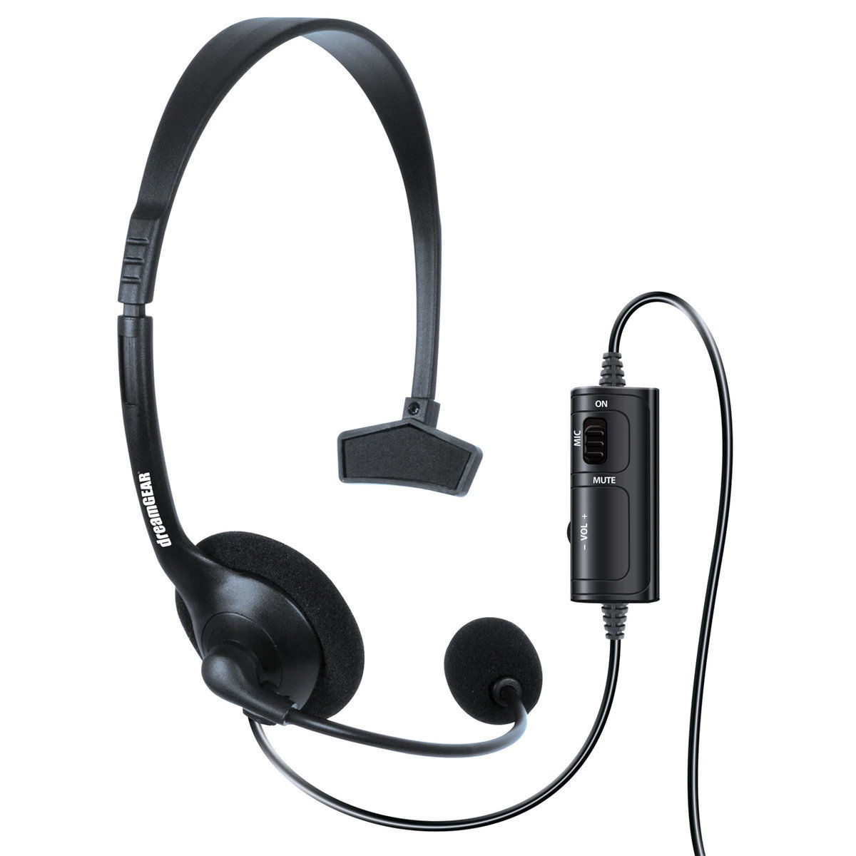 Picture of dreamGEAR Broadcaster Headset for PS4 - Black