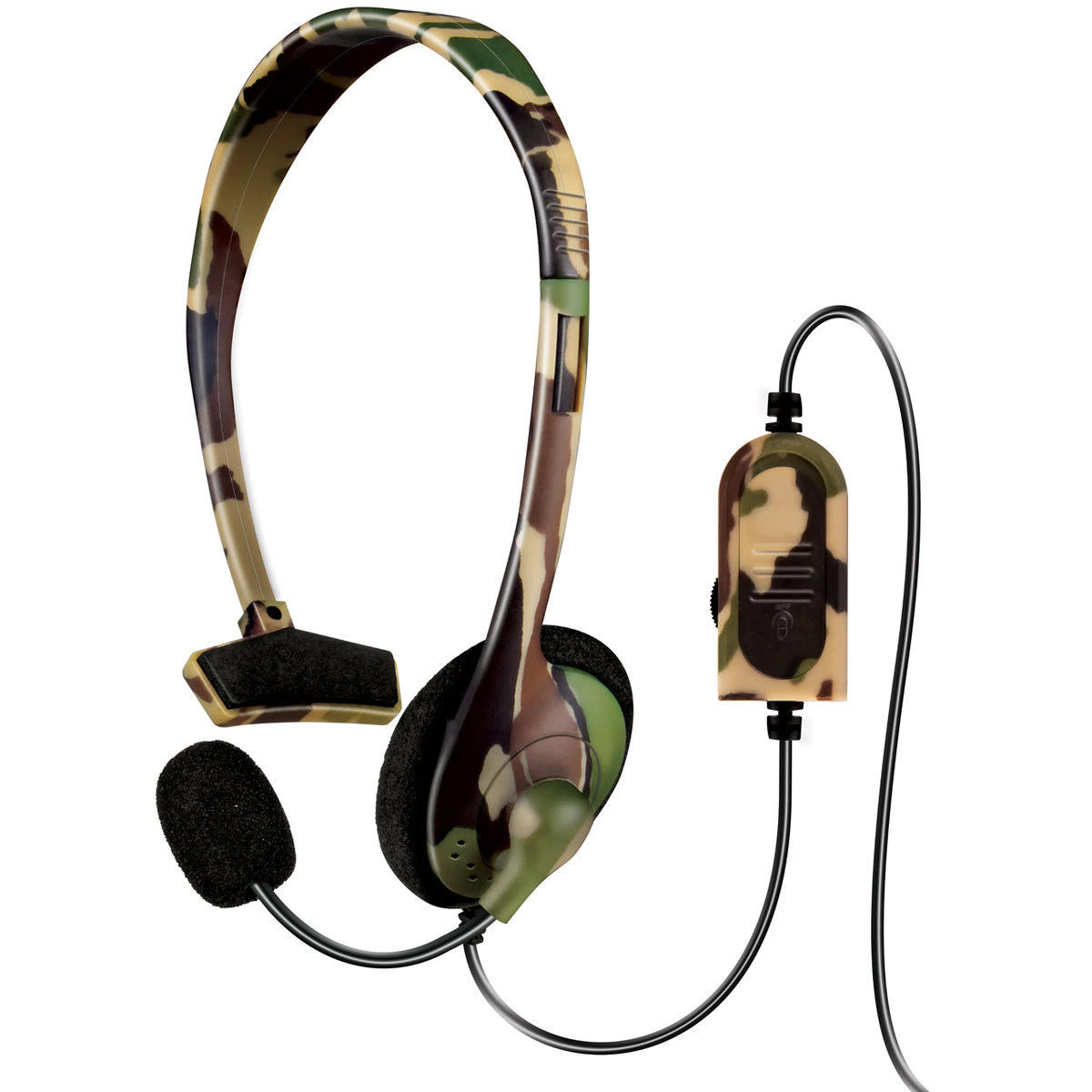 Picture of dreamGEAR Broadcaster Headset for PS4 - Jungle Camo