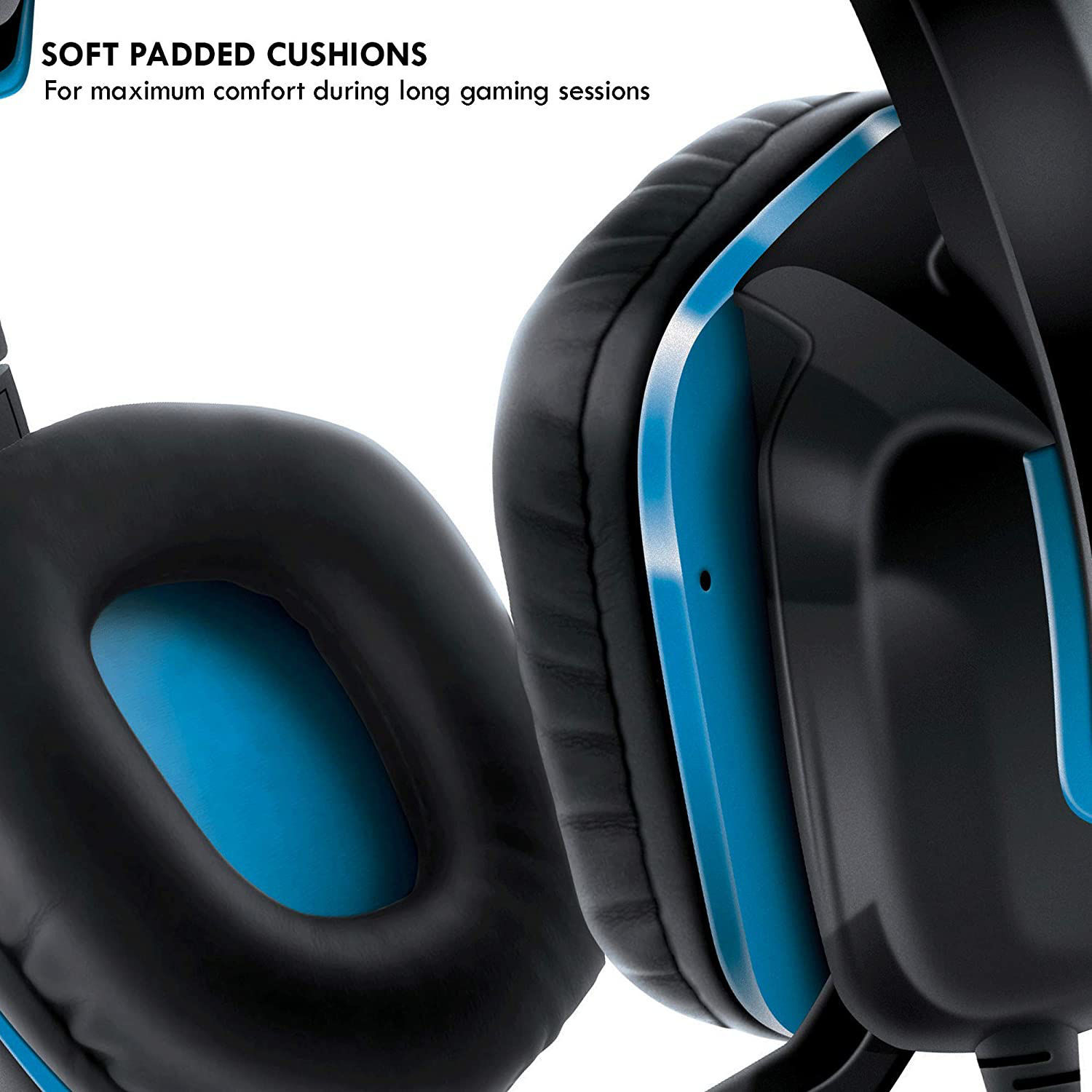 Picture of dreamGEAR GRX-340 Headset for PS4 - Black/Blue