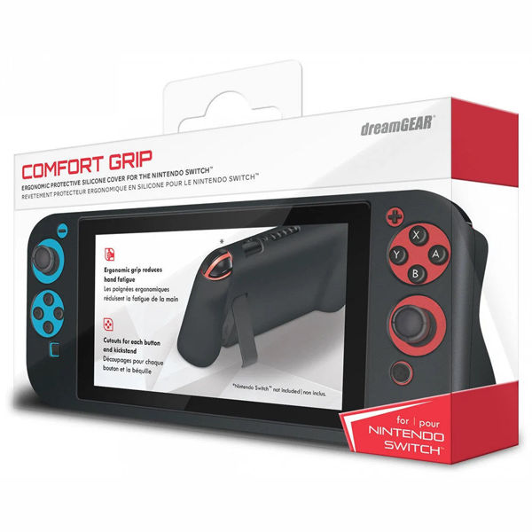 Picture of dreamGEAR Comfort Grip for Nintendo Switch - Black