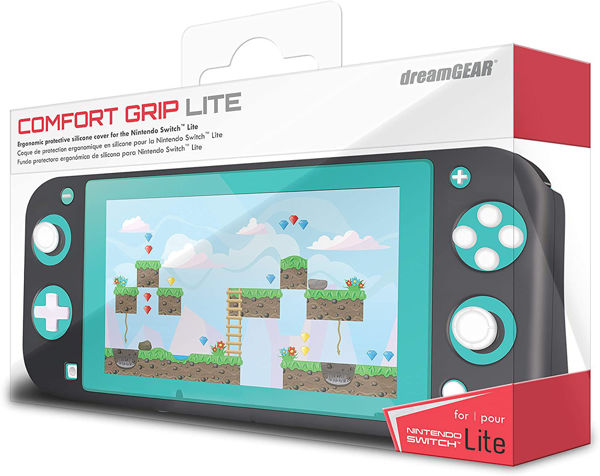 Picture of dreamGEAR Comfort Grip for Nintendo Switch Lite - Black