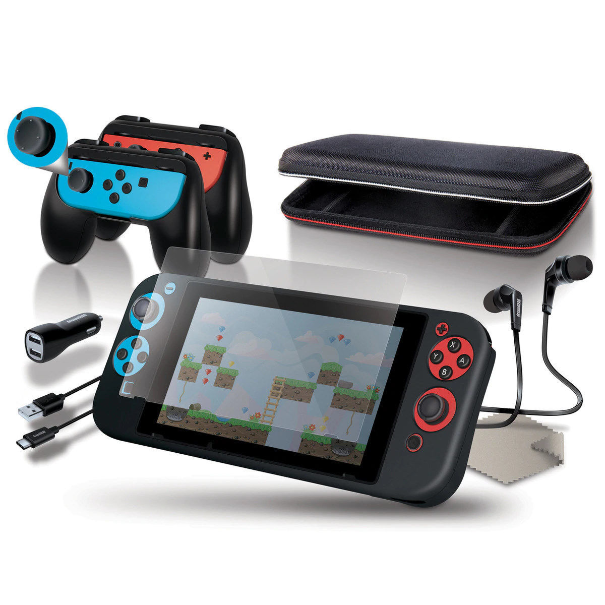 Picture of dreamGEAR Starter Kit for Nintendo Switch