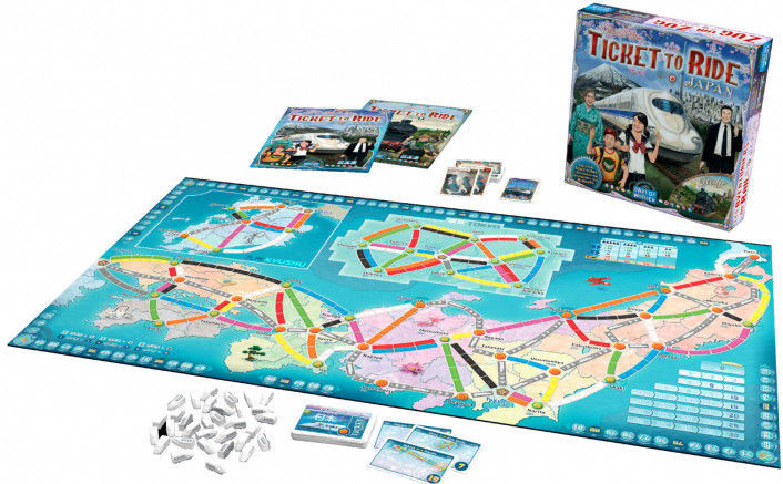 Picture of Ticket to Ride Japan / Italy