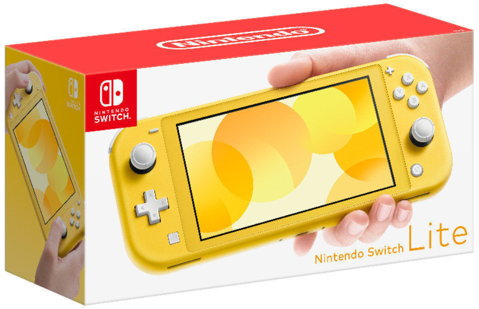 Picture of Nintendo Switch Lite Console Yellow and Animal Crossing: New Horizons Bundle