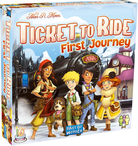 Picture of Ticket to Ride Europe First Journey