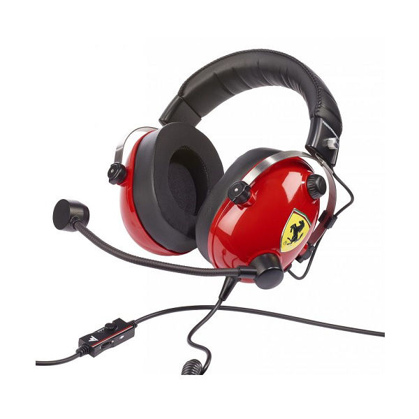 Picture of Thrustmaster T.Racing Scuderia Ferrari Edition Headset for PS4/XB1/Switch/PC