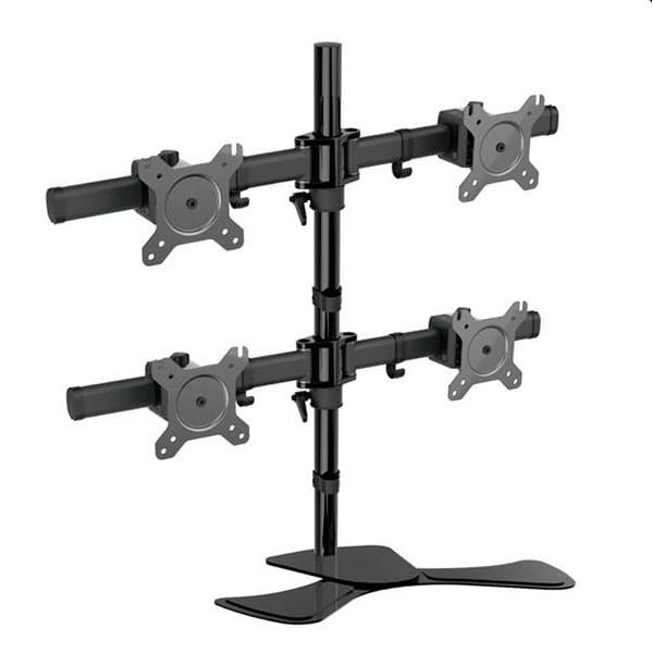 Picture of Four Screen Adjustable Desk Bracket