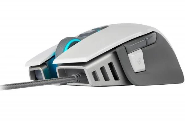 Picture of Corsair M65 RGB Elite Tunable FPS Optical Gaming Mouse - White