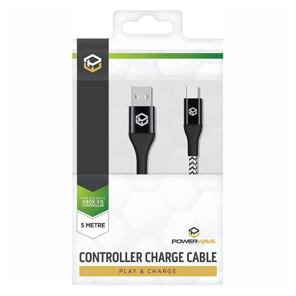 Picture of Powerwave 5m Xbox Series X|S Controller Charge Cable