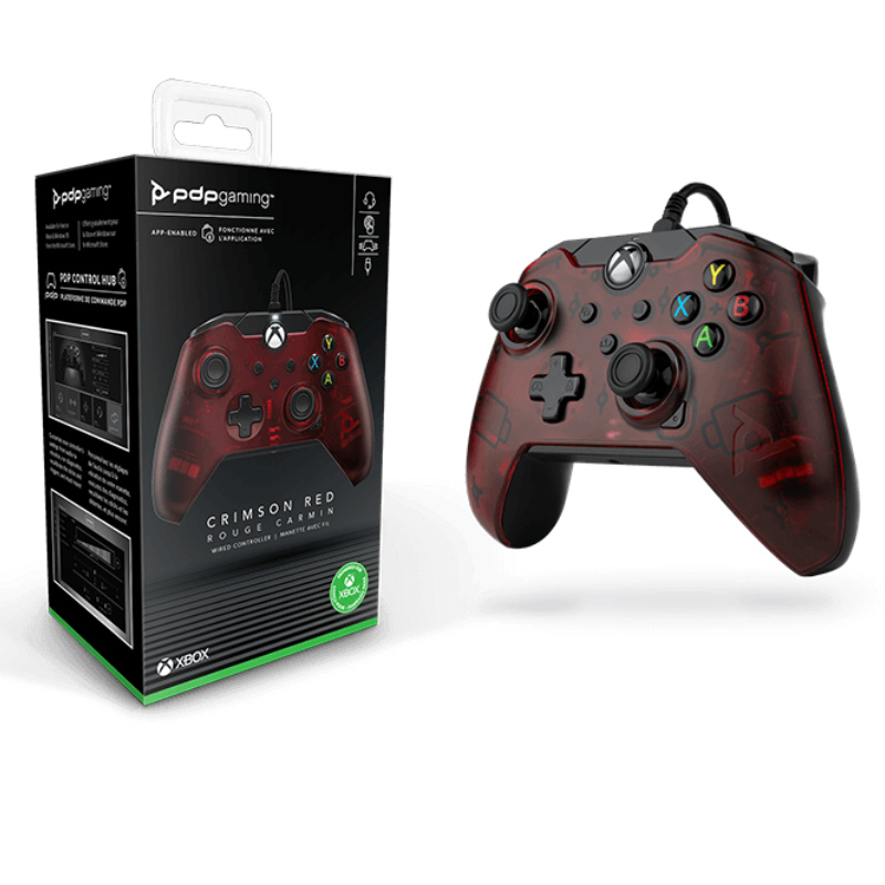 Picture of PDP Wired Gaming Controller Crimson Red for Xbox Series X|S, Xbox One, PC