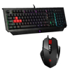 Picture of Bloody Gaming Keyboard & Mouse Value Bundle - B-120N Neon Illuminate Keyboard & V7M XGlide Multi-core Mouse