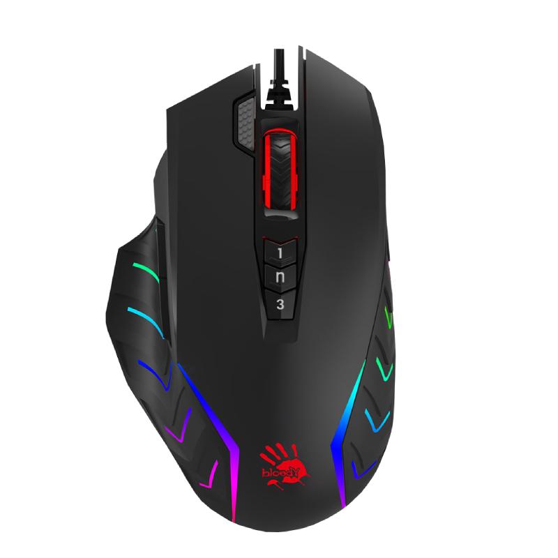 Picture of Bloody Gaming Keyboard & Mouse Performance Bundle - B500N Mecha-Like Keyboard  & J95S RGB Mouse