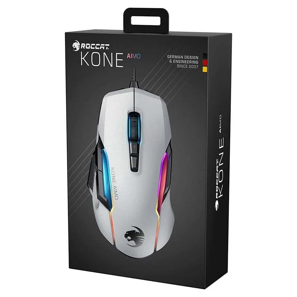 Picture of Roccat Kone Aimo Remastered Gaming Mouse - White