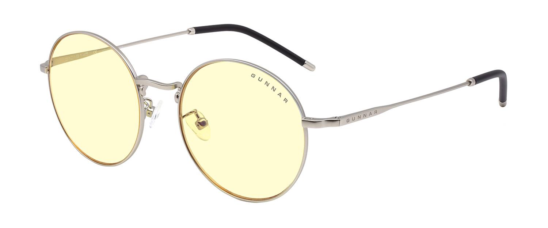 Picture of Ellipse Amber Silver Indoor Digital Eyewear - eye strain glasses