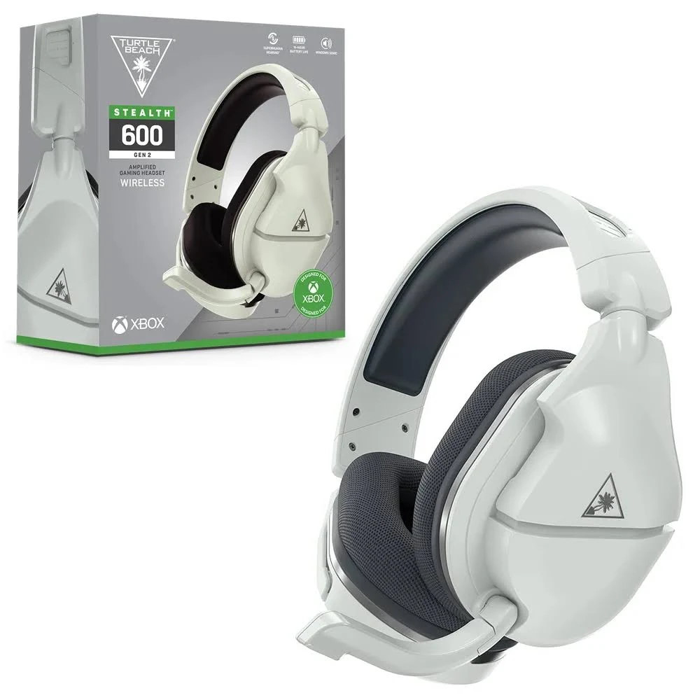 Picture of Turtle Beach Stealth 600 Gen 2 (White) Wireless Gaming Headset for Xbox One, Xbox Series S X